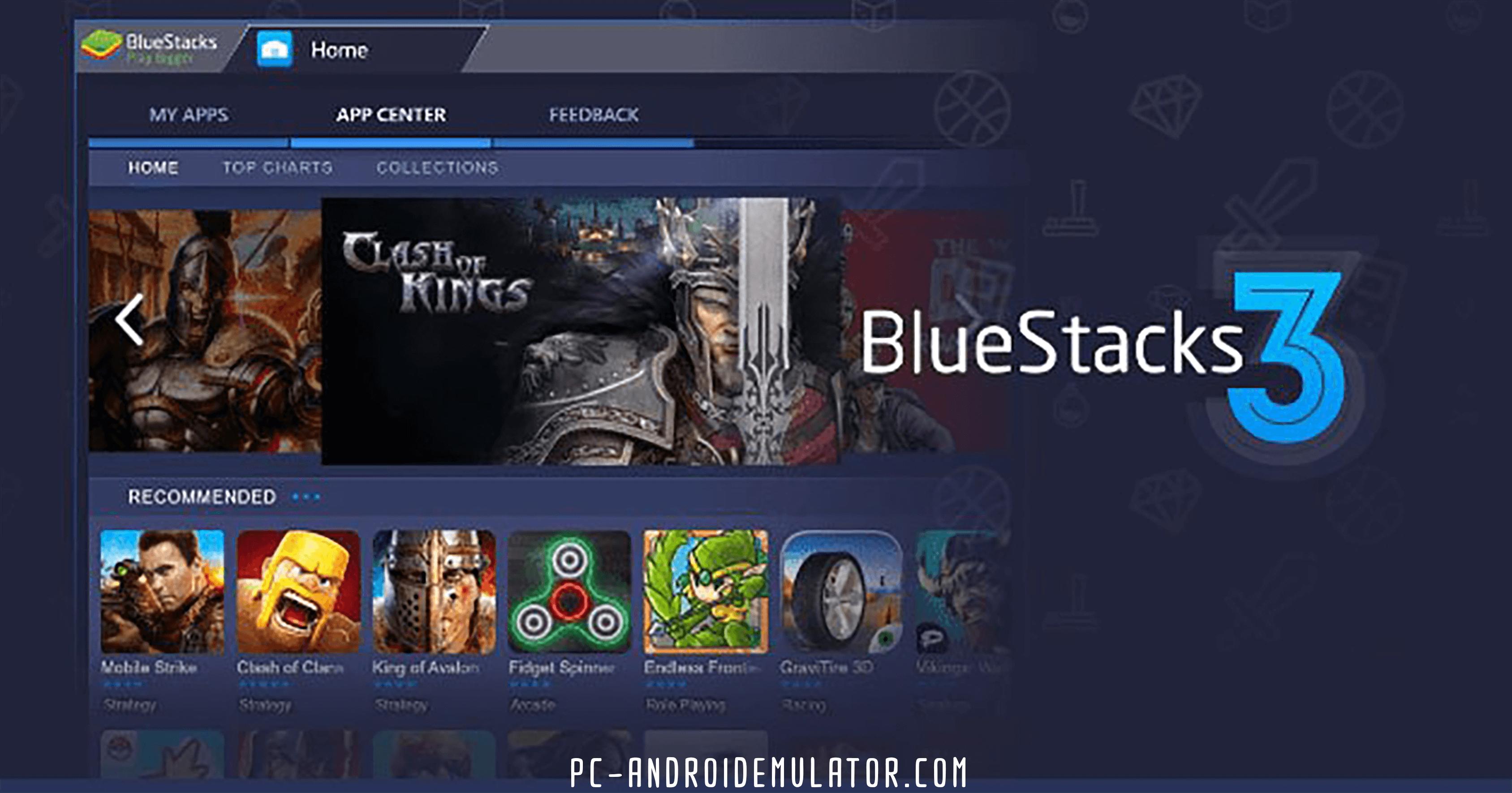 تحميل محاكي Blue Stacks 3 LITE للأجهزة الضعيفة